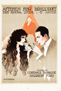 """Movie Posters:Comedy, Wedding Bells (First National, 1921). Norwegian One Sheet (24.75"""" X37"""").. ..."""