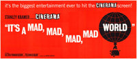 "It's a Mad, Mad, Mad, Mad World (United Artists, 1963). Cinerama 24 Sheet (104"" X 232"")"