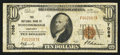 National Bank Notes:Kentucky, Middlesborough, KY - $10 1929 Ty. 1 The NB of Middlesborough Ch. #7086. ...
