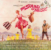 "The Sound of Music (20th Century Fox, 1965). Six Sheet (81"" X 81"") Todd AO Roadshow Style"