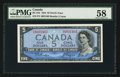Canadian Currency: , BC-31b $5 1954 Devil's Face. ...