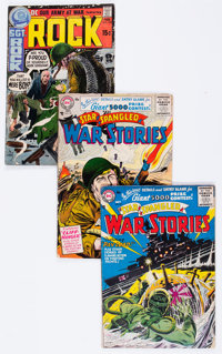 Silver to Bronze Age War Related Group (DC/Marvel, 1960s-70s) Condition: Average GD.... (Total: 66 Comic Books)