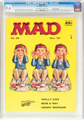Magazines:Mad, Mad #36 Gaines File pedigree (EC, 1957) CGC NM+ 9.6 Off-white to white pages....