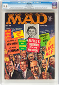 Magazines:Mad, Mad #56 (EC, 1960) CGC NM 9.4 Off-white to white pages....