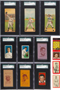 Baseball Cards:Lots, 1909 - 1935 Baseball Cards, Silks, Blankets and MatchbookCollection (130+). ...