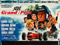 "Movie Posters:Sports, Grand Prix (MGM, 1967). British Quad (30"" X 40"") Style A.. ..."