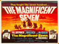 "Movie Posters:Western, The Magnificent Seven (United Artists, 1960). British Quad (30"" X40"").. ..."