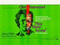 "Play Misty For Me (Universal, 1971). British Quad (30"" X 40"")"