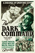 """Movie Posters:Western, The Dark Command (Republic, 1940). One Sheet (27"""" X 41"""") Style A.. ..."""