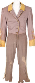 "Movie/TV Memorabilia:Costumes, A Leslie Howard Confederate Soldier Uniform from ""Gone With The Wind.""..."