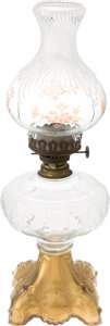 "Movie/TV Memorabilia:Props, A Kerosene Lamp Possibly from ""Gone With The Wind.""... (Total: 2Items)"