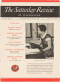 "Movie/TV Memorabilia:Documents, A Copy of ""The Saturday Review of Literature"" Featuring a Review of ""Gone With The Wind,"" 1936...."
