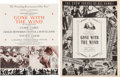 """Movie/TV Memorabilia:Documents, A Set of Programs from """"Gone With The Wind,"""" 1939-1940. ..."""