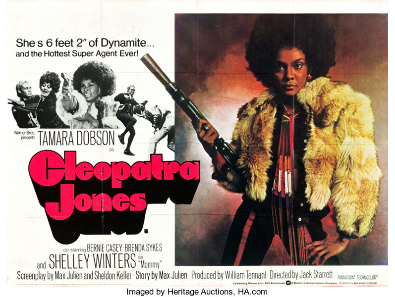 Cleopatra Jones Warner Brothers 1973 British Quad 30 X 40 Lot 86564 Heritage Auctions