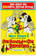 "Movie Posters:Animation, 101 Dalmatians (Buena Vista, 1961). One Sheet (27"" X 41.5"").. ..."
