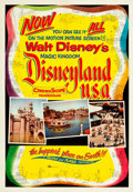 "Movie Posters:Documentary, Disneyland, U.S.A. & Others Lot (Buena Vista, 1957). One Sheets(3) (27"" X 41"").. ... (Total: 3 Items)"