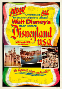 "Disneyland, U.S.A. & Others Lot (Buena Vista, 1957). One Sheets (3) (27"" X 41""). ... (Total: 3 Items)"