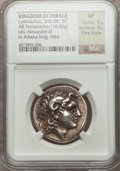Ancients:Greek, Ancients: THRACIAN KINGDOM. Lysimachus (305-281 BC). AR tetradrachm (16.48 gm)....