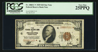 Fr. 1860-C* $10 1929 Federal Reserve Bank Note. PCGS Very Fine 25PPQ