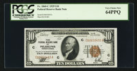 Fr. 1860-C $10 1929 Federal Reserve Bank Note. PCGS Very Choice New 64PPQ