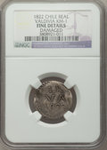 Chile, Chile: Valdivia. Provisional Real 1822 Fine Details (Damaged)NGC,...