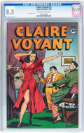 Golden Age (1938-1955):Crime, Claire Voyant #2 (Pentagon, 1946) CGC VF+ 8.5 Off-white to white pages....