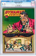 Golden Age (1938-1955):Horror, Dynamic Comics #19 (Chesler, 1946) CGC FN+ 6.5 Slightly brittlepages....