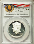 Kennedy Half Dollars, 2014-S 50C Silver, Enhanced Finish, 50th Anniversary Set, FirstStrike, MS70 Prooflike PCGS. PCGS Population (1128). NGC Ce...