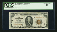 Fr. 1890-B* $100 1929 Federal Reserve Bank Note. PCGS Extremely Fine 45