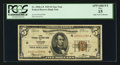 Fr. 1850-G* $5 1929 Federal Reserve Bank Star Note. PCGS Apparent Fine 15