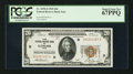 Small Size:Federal Reserve Bank Notes, Fr. 1870-D $20 1929 Federal Reserve Bank Note. PCGS Superb Gem New 67PPQ.. ...