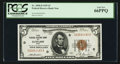 Small Size:Federal Reserve Bank Notes, Fr. 1850-D $5 1929 Federal Reserve Bank Note. PCGS Gem New 66PPQ.. ...