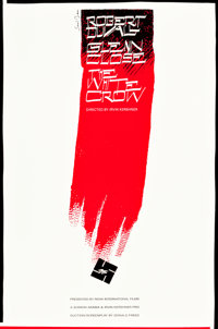 """The White Crow (Unfinished Film) (Nova International Films, 1965). Saul Bass Concept Poster (24"""" X 36"""")"""