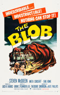 "Movie Posters:Science Fiction, The Blob (Paramount, 1958). One Sheet (26.75"" X 41.5"").. ..."