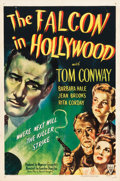 """Movie Posters:Mystery, The Falcon in Hollywood (RKO, 1944). One Sheet (27"""" X 41"""").. ..."""