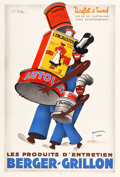 """Movie Posters:Miscellaneous, Berger-Grillon (c.1930). Advertising Poster (31"""" X 46"""").. ..."""