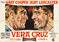 "Movie Posters:Western, Vera Cruz (United Artists, 1955). Italian 2 - Foglio (55"" X 39"")....."