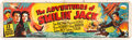 "Movie Posters:Serial, The Adventures of Smilin' Jack (Universal, 1943). Cloth Banner (35""X 117"").. ..."