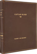 "Movie/TV Memorabilia:Documents, A Harry Joe Brown Personally-Owned Script from ""Captain Blood.""..."