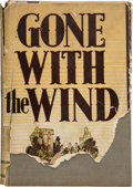 "Movie/TV Memorabilia:Autographs and Signed Items, A Margaret Mitchell Signed First Edition of ""Gone With The Wind,""1936...."