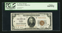 Fr. 1870-F $20 1929 Federal Reserve Bank Note. PCGS Gem New 66PPQ