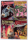 Pulps:Science Fiction, Astounding Stories Group (Street & Smith, 1931-43) Condition:Average GD+.... (Total: 18 Items)
