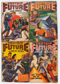 Pulps:Science Fiction, Captain Future Group (Better Publications, 1940-44) Condition:Average FR/GD.... (Total: 9 Comic Books)
