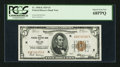 Small Size:Federal Reserve Bank Notes, Fr. 1850-K $5 1929 Federal Reserve Bank Note. PCGS Superb Gem New 68PPQ.. ...
