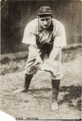Baseball Collectibles:Photos, Circa 1905 Honus Wagner Original News Photograph by Bain, PSA/DNAType 1....