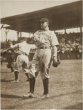 Baseball Collectibles:Photos, Circa 1910 Napoleon Lajoie Original News Photograph by PaulThompson, PSA/DNA Type 1....