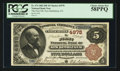 National Bank Notes:Pennsylvania, New Bethlehem, PA - $5 1882 Brown Back Fr. 474 The First NB Ch. # 4978. ...