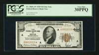 Fr. 1860-A* $10 1929 Federal Reserve Bank Note. PCGS Very Fine 30PPQ