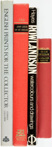 Books:Art & Architecture, [Art.] Group of Four Books Related to Art and Artists. Various publishers and dates.... (Total: 4 Items)