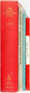 Books:Books about Books, [Books about Books.] Group of Four Reference Books Related to Book Collecting. Various publishers and dates.... (Total: 4 Items)